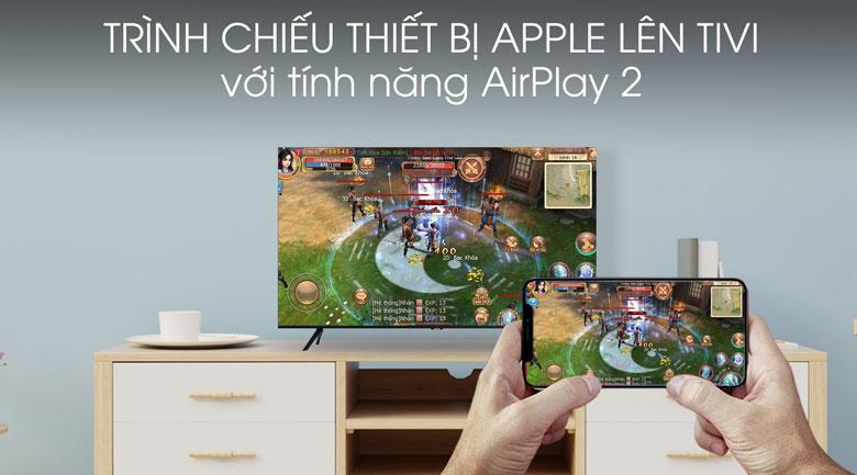 Airplay 2 - Smart Tivi Samsung 4K 50 inch UA50TU8100