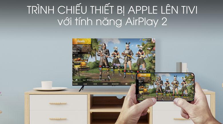 Airplay 2 - Smart Tivi Samsung 4K 55 inch UA55TU8100