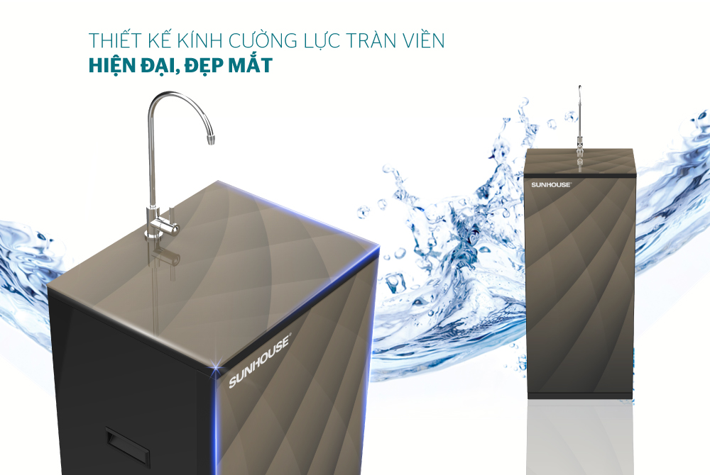 Máy lọc nước R.O 9 lõi SUNHOUSE SHA8817KP 1