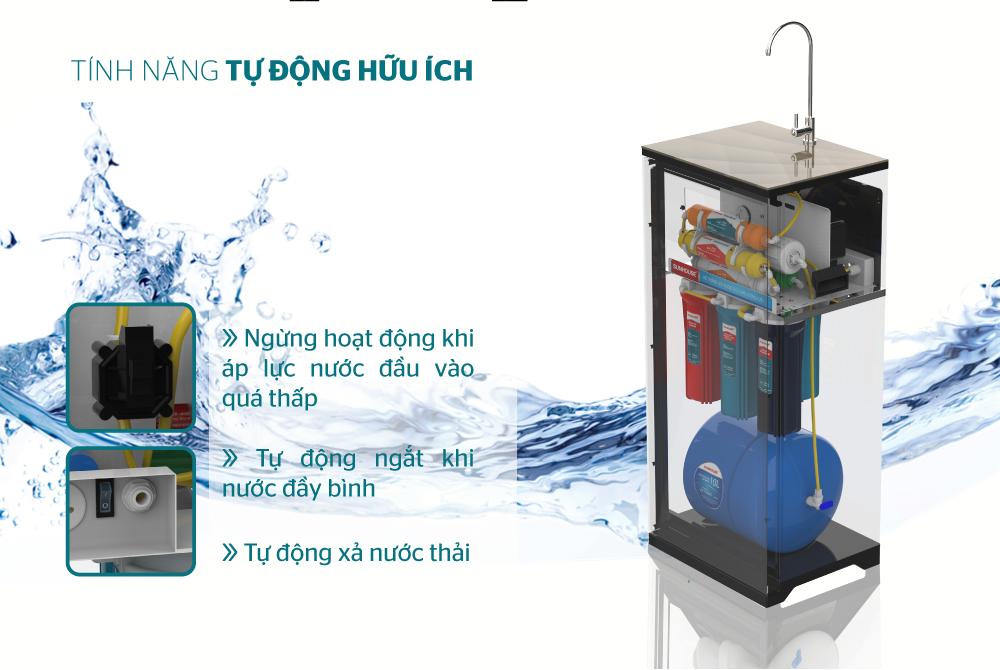 Máy lọc nước R.O 9 lõi SUNHOUSE SHA8817KP 4