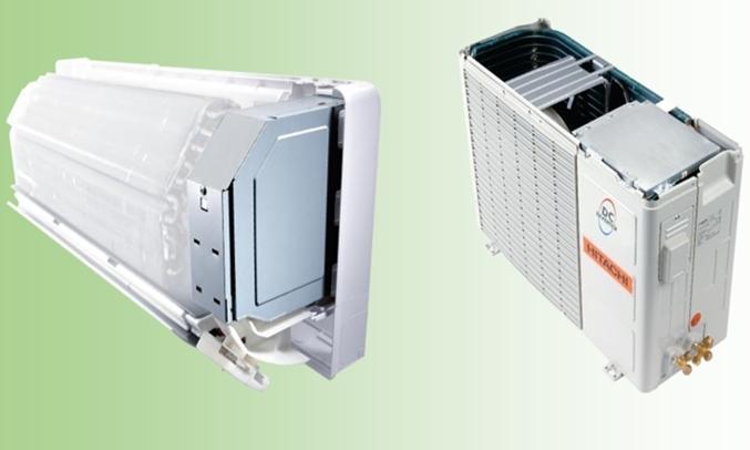 Máy lạnh Hitachi RAS-F13CF/RAC-F13CFbộ xử lý thông minh