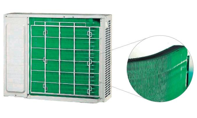 Máy lạnh Hitachi RAS-F13CF/RAC-F13CFdàn tản nhiệt tốt