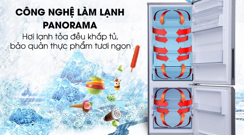 Tủ lạnh Panasonic Inverter 290 lít NR-BV320WSVN-Làm lạnh thực phẩm toàn diện với công nghệ Panorama