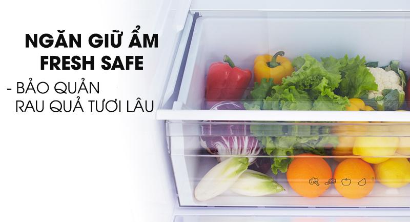 Tủ lạnh Panasonic Inverter 290 lít NR-BV320WSVN-Bảo quản rau quả tươi lâu trong ngăn giữ ẩm Fresh Safe