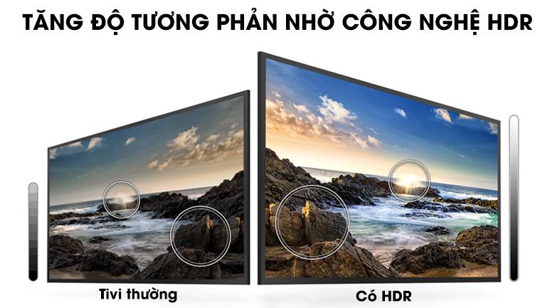 Smart Tivi Samsung 43 inch UA43T6000 - Công nghệ HDR
