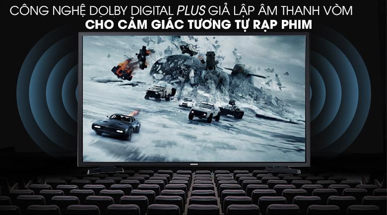 Smart Tivi Samsung 43 inch UA43T6000 - Công nghệ Dolby Digital giả lập âm thanh vòm