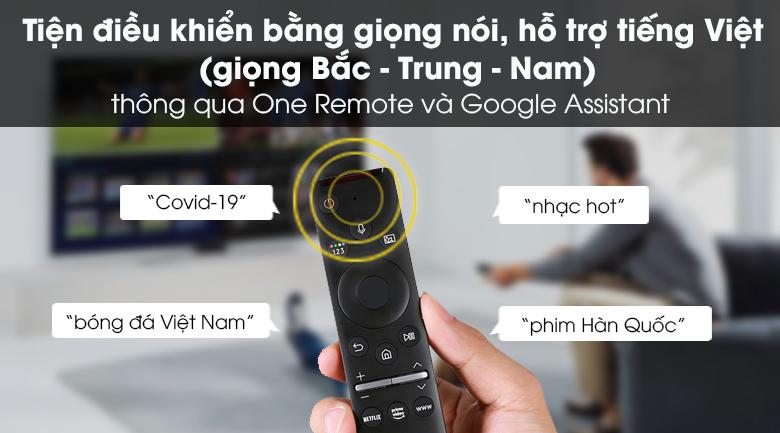 One Remote - Smart Tivi Samsung 4K 55 inch UA55TU8100