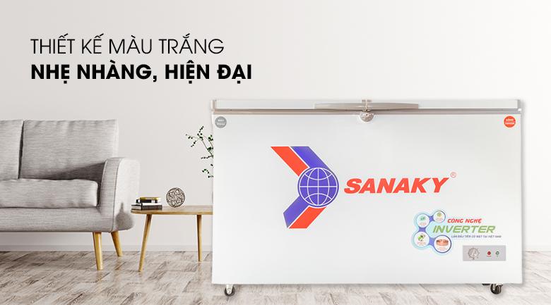 Thiết kế đơn giản, dễ sử dụng - Tủ đông Sanaky 280 lít VH-4099W3