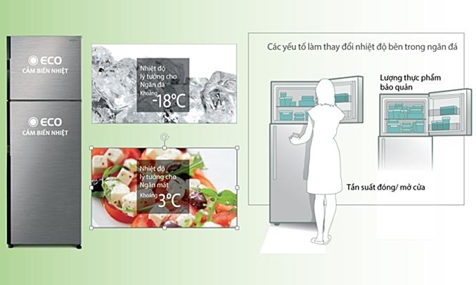 Tủ lạnh Hitachi 290 lít R-H350PGV7 (BSL)làm lạnh cực nhanh