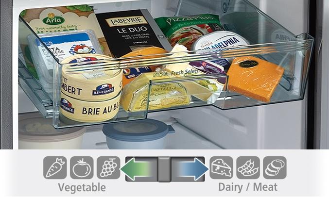 Tủ lạnh Hitachi 290 lít R-H350PGV7 (BSL)ngăn trữ chuyển đổi
