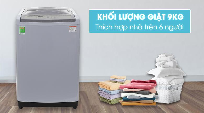 thiết kế máy giặt samsung wa90m5120sg-sv